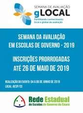 Prorrogadas inscrições para Semana da Avaliação em Escolas de Governo – 2019