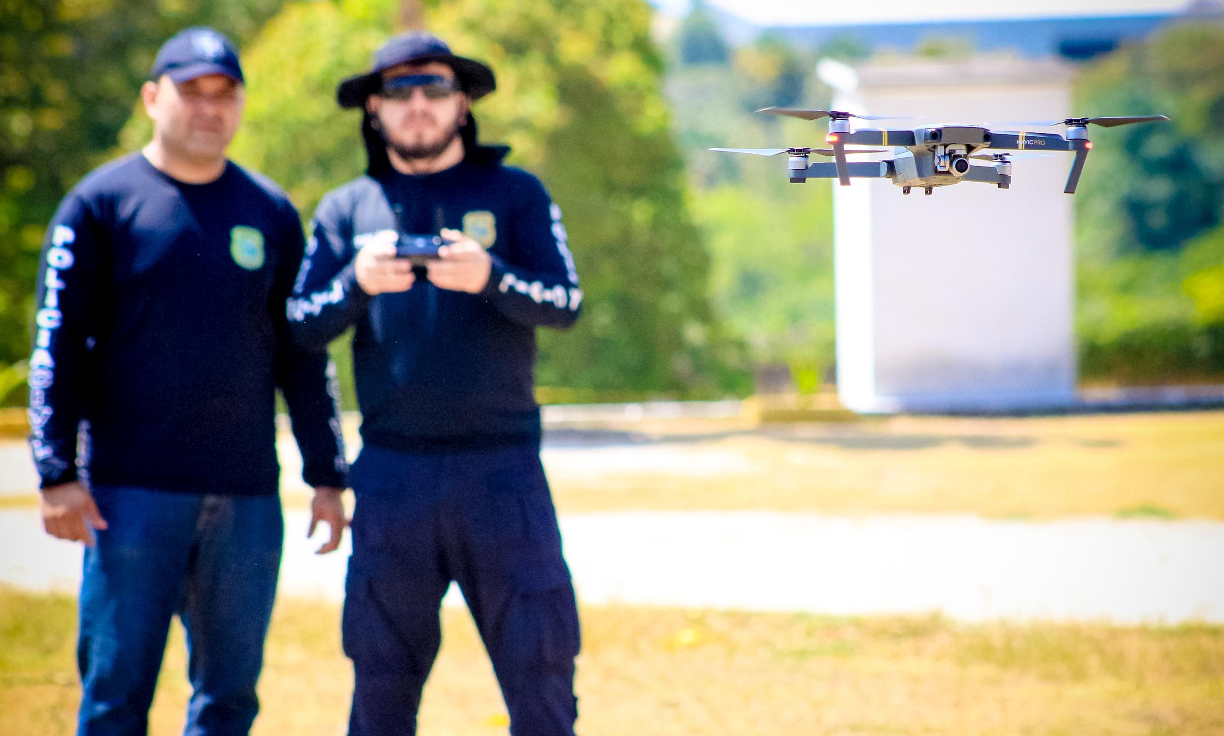 Aesp capacita agentes de segurança pública para operar drones
