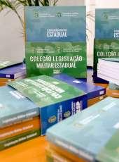 Oficial da PMCE lança coleção de livros sobre a Legislação Militar Estadual