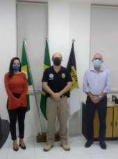 Delegado Geral recebe visita de representantes das vinculadas da Segurança Pública