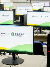 Inaugurado novo laboratório de informática e ambulatório da Aesp